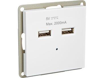 toom USB-Steckdose 'Design Line' weiß