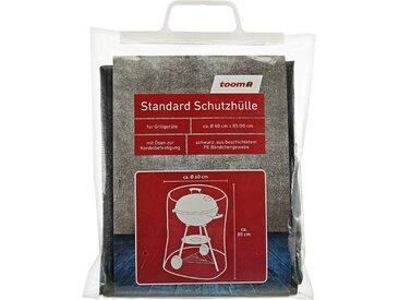 toom Standard Schutzhülle für Kugelgrills PE-Bändchengewebe schwarz Ø 60 x 85 cm