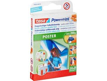 tesa Klebestreifen 'Powerstrips' für Poster 20 Stück