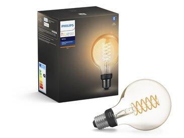 Philips Hue LED-Filamentlampe Globe 'Hue White' ST64 E27 7 W