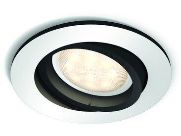 Philips HUE LED Einbauspot rund Milliskin 5041148P8, 250 lm, Aluminium, Erweiterung