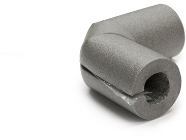 CLIMATUBE® Bogen Rohrisolierung 'Easy' Selbstklebeverschluss, PE, Ø 15 x 25 mm