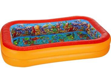 Bestway Planschbecken 'Family Pool 3D Undersea Adventure' gelb 262 x 175 x 51 cm