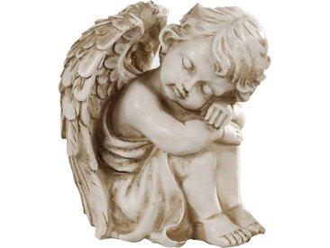 Schlaraffenland Grab-Gedenkstein 'Angel' Engel schlafend, 2 Ausführungen sortiert