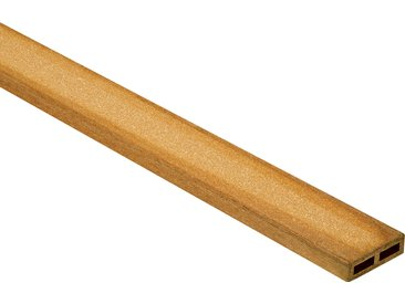 Rettenmeier Outdoor Wood WPC-Abschlussleiste hellbraun 300 x 6 x 1,7 cm