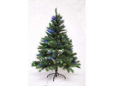 LED-Tannenbaum grün 150 cm, mit Metallständer