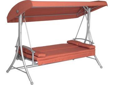 Hollywoodschaukel 'Sophia' 3-Sitzer terrakotta