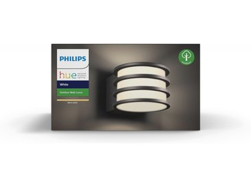 Philips Hue LED-Wandleuchte 'Hue White Lucca' anthrazit 806 lm