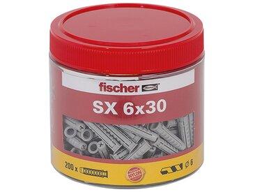 Fischer Dose mit Spreizdübeln 'SX' Ø 6 x 30 mm, 200 Stück