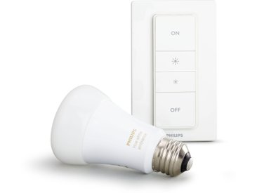 Philips Hue LED White Amb. Light Recipe Kit inkl. Dimmschalter, E27, 1x9,5W