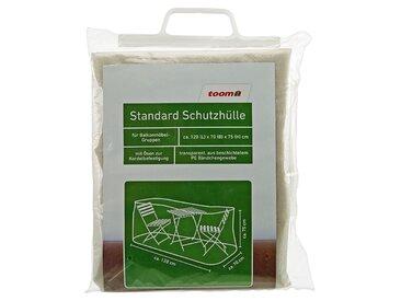 toom Standard Schutzhülle für Möbelgruppen PE-Bändchengewebe transparent 120 x 70 x 75 cm