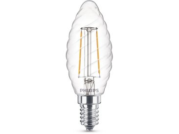 Philips LED-Kerze 'Filament' E14 gedreht