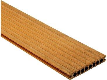 Rettenmeier Outdoor Wood WPC-Terrassendiele hellbraun 300 x 14,5 x 2,1 cm