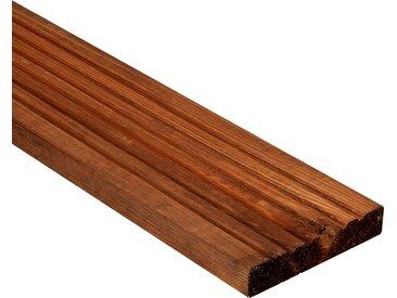 Rettenmeier Outdoor Wood Terrassenholzdiele braun 200 x 14,5 x 2,8 cm