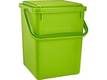 Komposteimer grün 23 x 22,5 x 27,5 cm 8 l