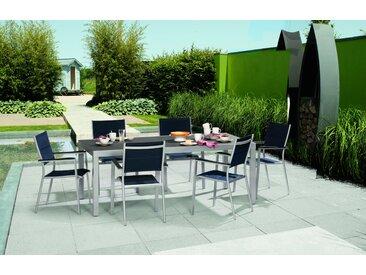 Gartentisch 'Meike Plus' 100/175 x 75 x 100 cm, ausziehbar