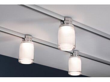 Paulmann LED-Deckenspot URail System 'Safira' 5,2W Chrom/Klar/Satin