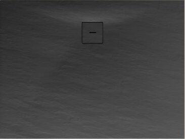 Schulte Duschwanne Mineralguss anthrazit 100 x 140 cm