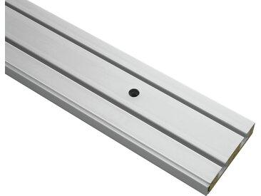 Gardinia Vorhangschiene 2-läufig weiß 120 cm