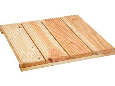 "Rettenmeier Outdoor Wood Holzfliese ""Douglasie"" 60 x 60 x 4,9 cm"