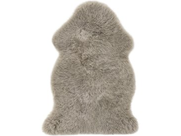 Schaf-Fell 85 x 60 cm taupe