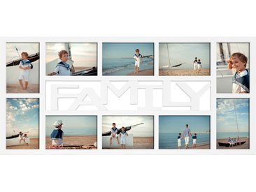 "Collagerahmen ""Family"" weiß 68 x 32 cm"