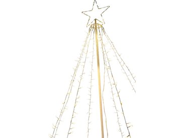 toom LED-Sternenbaum 670 LEDs warmweiß 210 cm