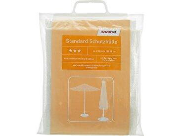 toom Standard Schutzhülle für Sonnenschirme PE-Bändchengewebe transparent Ø 40 x 250 cm