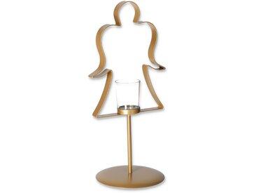 Kerzenhalter 'Engel' gold 38 cm