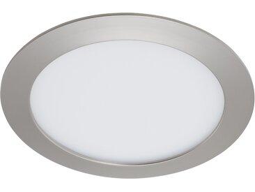 Briloner LED-Einbauleuchte 'Flat In' 1200 lm 12 W rund Bad