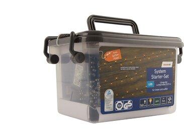 toom System Lichterketten-Starter-Set warmweiß 160 LEDs außen