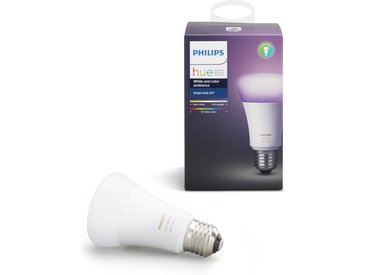 Philips Hue LED White & Color Amb. Erweiterung, E27, 1x10W, Bridge erforderlich