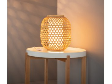 Tischleuchte 'Bambus' E27, 40 W, Ø 25 x 30,8 cm