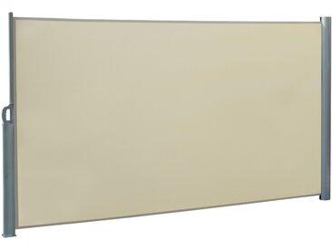 Doppel-Seitenmarkise natur 600 x 160 cm