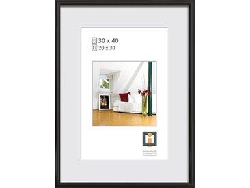 Bilderrahmen Kunststoff schwarz 30 x 40 cm