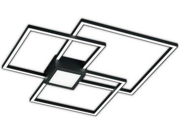Trio LED-Deckenleuchte 'Hydra' anthrazit 4000 lm