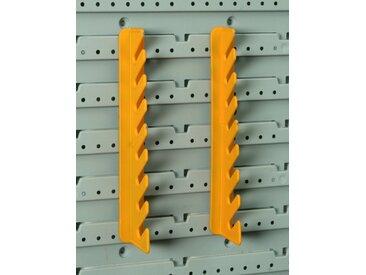 Allit StorePlus Gabel/Ringschlüsselhalter 'Flex P 8' gelb
