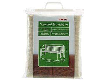 toom Standard Schutzhülle für Gartenbänke PE-Bändchengewebe transparent 170 x 70 x 100 cm