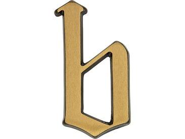 Metafranc Hausnummer 'b' 8,5 cm, messing