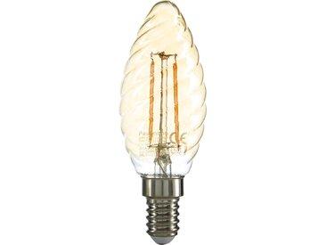 LED-Kerze Filament E14 gold