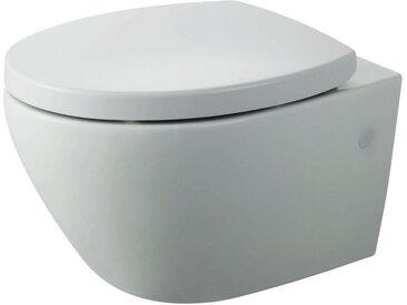 Vereg Wand-WC 'Rio' spülrandlos weiß inkl. WC-Sitz