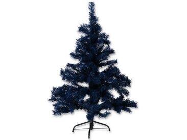 Künstlicher Weihnachtsbaum blau 120 cm