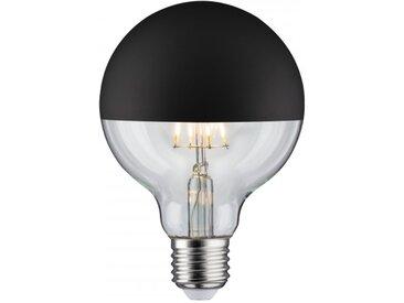 Paulmann LED Globe 95 Kopfspiegel Schwarz matt 5W E27 Warmweiß dimmbar
