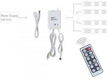 Paulmann YourLED Dimm/Schalt Controller mit IR-Fernbedienung, Weiß