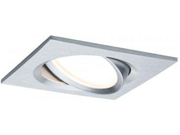 Paulmann Einbauleuchte LED Nova Plus eckig 1x6,8W Alu schwenkbar dimmbar