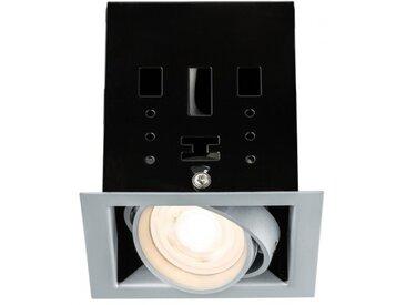 Paulmann Einbauleuchte LED Cardano 7W Titan Warmweiß 1er-Set dimmbar und sch...