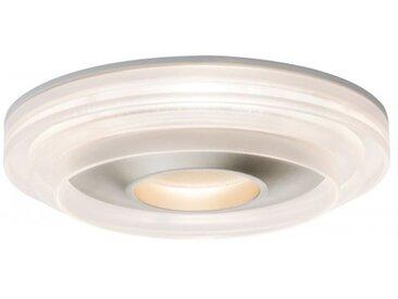 Paulmann Einbauleuchte LED Drip IP44 8W Weiß/ Champagnergold dimmbar