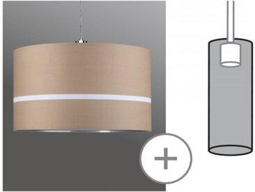 Paulmann URail 2Easy Stoffschirm Tessa Caramel max. 50W Durchmesser 45cm