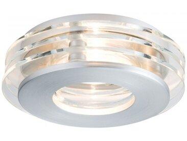 Paulmann Einbauleuchten-Set Premium Line Shell LED Alu gebürstet/Glas, rund,...