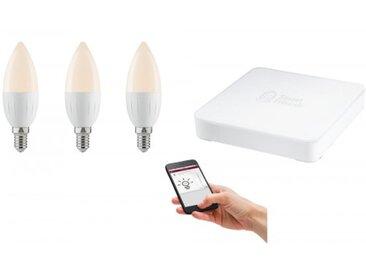 Paulmann SmartHome Starter Set Candela 2700K dimmbar inklusive SmartFriends Box